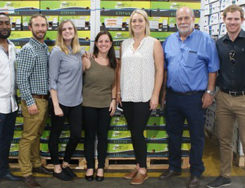 Zest Fruit first with co-loaded shipment for Japan and China